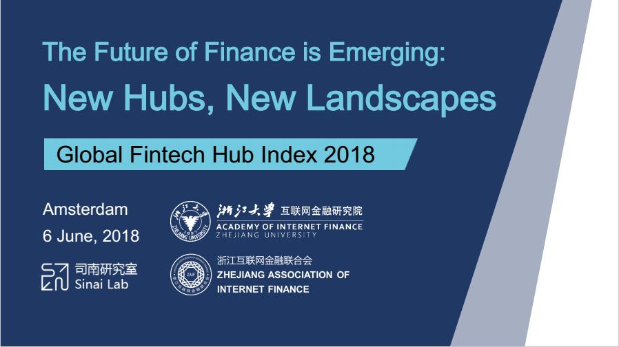 2018 Global Fintech Hub Index Report